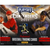 2011 Playoff Contenders Baseball Hobby Box