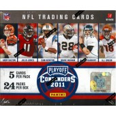 2011 Playoff Contenders Football Hobby 12 Box Case