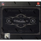 2011 Panini National Treasures Football Hobby 4 Box Case