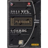 2011 Panini Playbook Football Hobby 10 Box Case