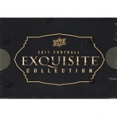 2011 Upper Deck Exquisite Football Hobby 3 Box Case