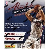 2012/13 Panini Absolute Basketball Hobby 18 Box Case