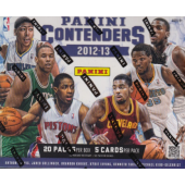 2012/13 Panini Contenders Basketball Hobby 12 Box Case
