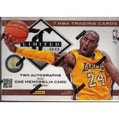2012/13 Panini Limited Basketball Hobby 15 Box Case