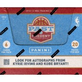 2012/13 Panini Past & Present Basketball Hobby 12 Box Case