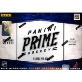 2012/13 Panini Prime Hockey Hobby 8 Box Case