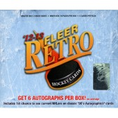 2012/13 Upper Deck Fleer Retro Hockey Hobby 6 Box Case