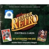 2012 Fleer Retro Football Hobby Box