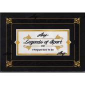 2012 Leaf Legends of Sport Hobby 12 Box Case