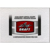 2012 Leaf Metal Draft Baseball Hobby 12 Box Case