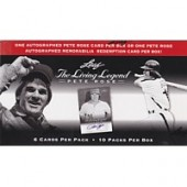 2012 Leaf Pete Rose The Living Legend Hobby 20 Box Case