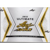 2012 Leaf Ultimate Golf Hobby Box