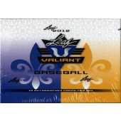 2012 Leaf Valiant Baseball Hobby 12 Box Case