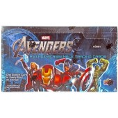 2012 Marvel Avengers Assemble Movie TC Hobby Box