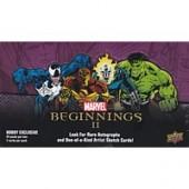 2012 Marvel Beginnings II TC Hobby 12 Box Case