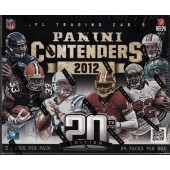 2012 Panini Contenders Football Hobby Box