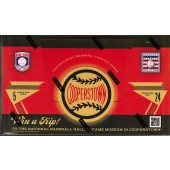 2012 Panini Cooperstown Baseball 14 Box Hobby Case