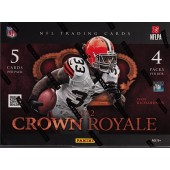 2012 Panini Crown Royale Football Hobby 12 Box Case