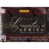 2012 Panini Signature Series Baseball Hobby 15 Box Case