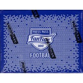 2012 Press Pass Fanfare Football Hobby 20 Box Case