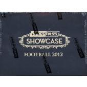 2012 Press Pass Showcase Football Hobby 20 Box Case