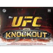 2012 Topps UFC Knockout Hobby 8 Box Case