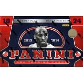 2013/14 Panini Basketball Hobby 12 Box Case