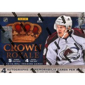 2013/14 Panini Crown Royale Hockey Hobby 12 Box Case