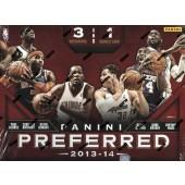 2013/14 Panini Preferred Basketball Hobby 10 Box Case