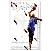 2013/14 Panini Signatures Basketball Hobby 12 Box Case