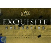 2013/14 Upper Deck Exquisite Collection Basketball Hobby Box