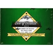 2013 Leaf Best of Baseball Hobby 3 Box Case