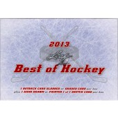 2013 Leaf Best of Hockey Hobby 3 Box Case