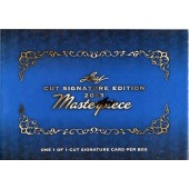 2013 Leaf Masterpiece Cuts Trading Cards Box