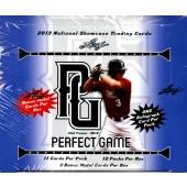 2013 Leaf Perfect Game Showcase Baseball 12 Box Case