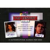 2013 Leaf Pop Century Trading Cards Box