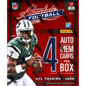 2013 Panini Absolute Memorabilia Football Hobby 6 Box Case
