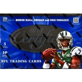 2013 Panini Certified Football Hobby 8 Box Case