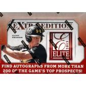 2013 Panini Elite Extra Edition Baseball Hobby 20 Box Case