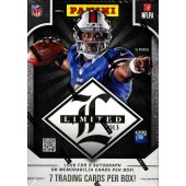 2013 Panini Limited Football Hobby 15 Box Case