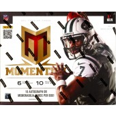 2013 Panini Momentum Football Hobby 10 Box Case