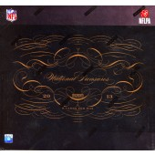 2013 Panini National Treasures Football Hobby 4 Box Case