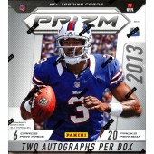 2013 Panini Prizm Football Hobby 12 Box Case