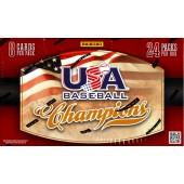 2013 Panini USA Baseball Champions Hobby 20 Box Case
