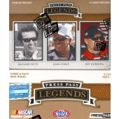 2013 Press Pass Legends Racing Hobby 12 Box Case