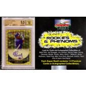 2013 Super Box Rookies And Phenoms Baseball 5 Box Case
