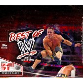 2013 Topps Best Of WWE Hobby 8 Box Case