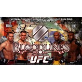 2013 Topps UFC Bloodlines Hobby 6 Box Case