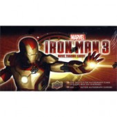 2013 Upper Deck Marvel Iron Man 3 Trading Cards Hobby Box