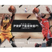 2014/15 Panini Preferred Basketball Hobby 10 Box Case